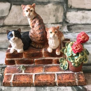 """Other - Lowell Davis """"Friends of Mine""""- Vintage 1989 cats"""